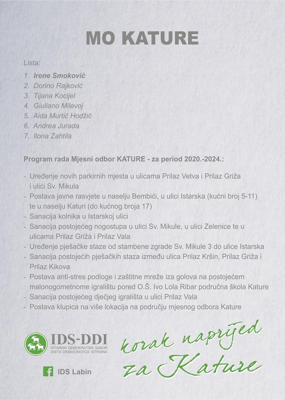 Kature program[113803]