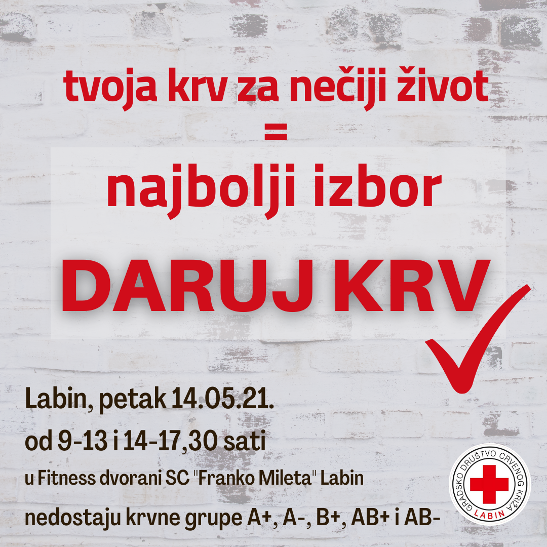 Najbolji izbor_daruj krv